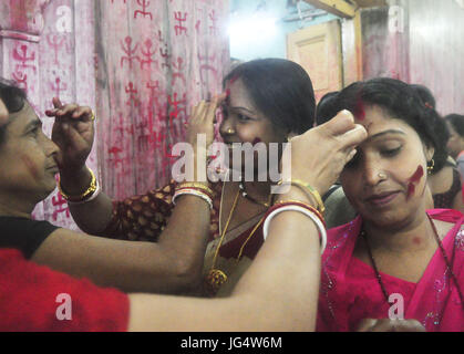 Abhisek Saha / Le Pictorium -  Kharchi Puja festival in India -  22/06/2017  -  India / Tripura / Agartala  -  Women - Stock Photo