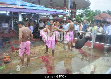 Abhisek Saha / Le Pictorium -  Kharchi Puja festival in India -  01/07/2017  -  India / Tripura / Agartala  -  An - Stock Photo