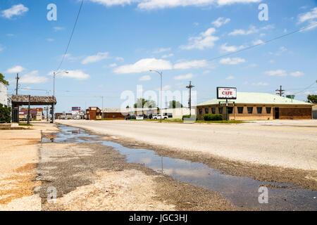 Oklahoma City, Historic Route 66, Oklahoma, USA - Stock Photo