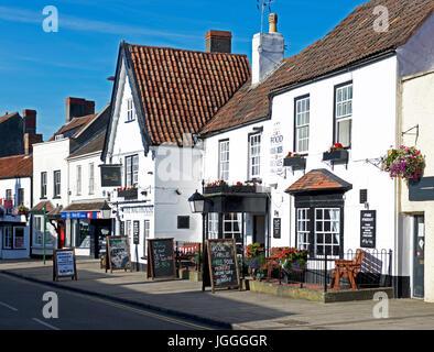The Malthouse pub in Thornbury, Gloucestershire, England UK - Stock Photo