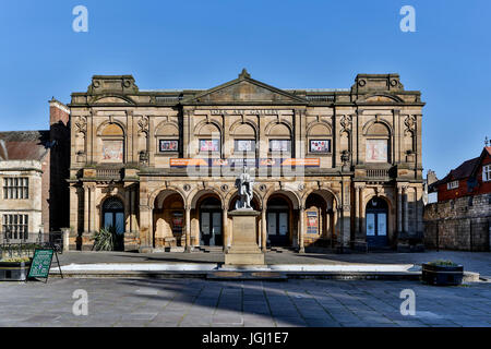 York Art Gallery, Exhibition Square, York, Yorkshire, England, United Kingdom - Stock Photo