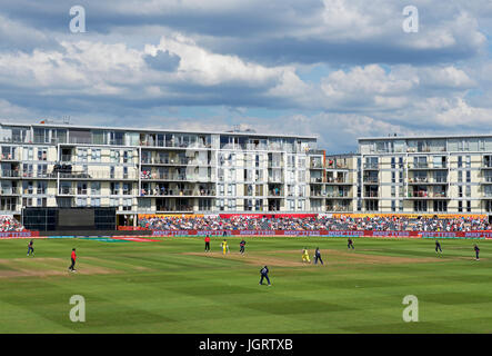 Women's International Cricket at Bristol, Gloucestershire, England UK - Stock Photo