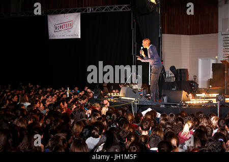 Hopeteen festival, Issy-les-Moulineaux, France. - Stock Photo