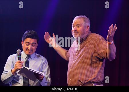Seattle, Washington, USA. 11th July, 2017. Former Seattle Mayor Mike McGinn at Candidate Survivor 2017 'A Seattle - Stock Photo