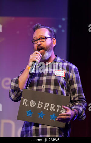 Seattle, Washington, USA. 11th July, 2017. Jason Roberts at Candidate Survivor 2017 'A Seattle Space Odyssey'. At - Stock Photo
