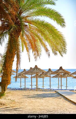 Vai Beach, Crete Island, Greece - Stock Photo