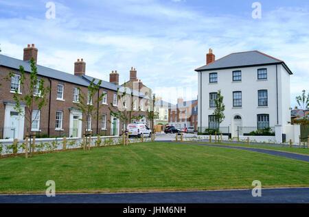 Around Poundbury a development on the outskirts of Dorchester Dorset england UK - Stock Photo