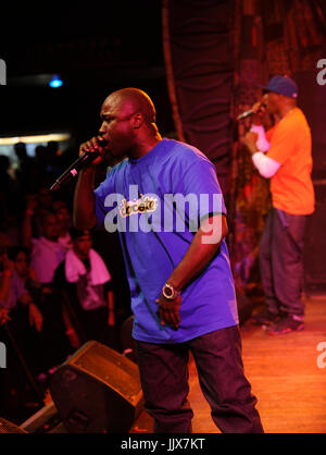 Rapper/Producer Havoc Mobb Deep perform House Blues Sunset May 28,2011 West Hollywood. - Stock Photo