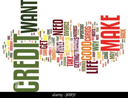 YOUR CREDIT Text Background Word Cloud Concept - Stock Photo