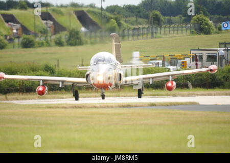BAC, Jet Provost, was a British jet-powered trainer aircraft - Stock Photo