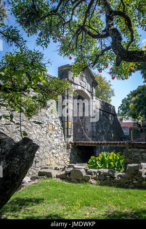Porton de Campo (City Gate) - Colonia del Sacramento, Uruguay - Stock Photo