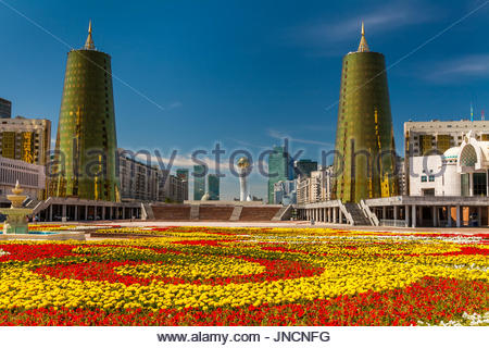 Kazakhstan, Astana City, Parlament - Stock Photo
