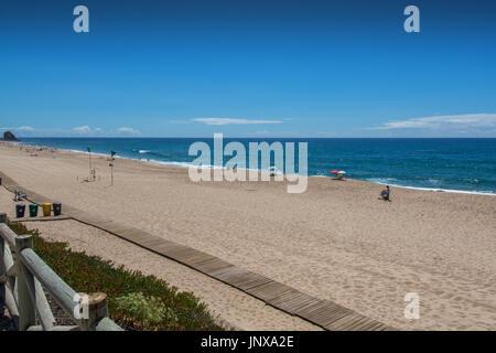 Santa cruz Portugal. 26 June 2017. Mirante beach in Santa Cruz.  Santa Cruz, Portugal. photography by Ricardo Rocha. - Stock Photo