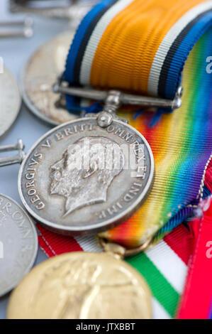 War Medals - Stock Photo