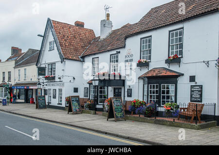 The Malthouse High Street Thornbury South Gloucestershire - Stock Photo