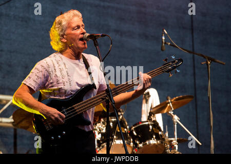Concert of the band The Equals, Ruhrbühne 2017 at Schloss Broich. - Stock Photo