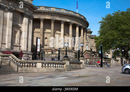 The World Museum and Liverpool Central Library William Brown St Liverpool Merseyside England - Stock Photo