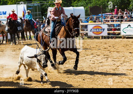 Exeter RAM Rodeo Exeter Ontario Canada Aug 2017 - Stock Photo