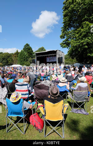 Weyfest music festival, The Rural Life Centre, Tilford, Surrey, England, August 19, 2017 - Stock Photo
