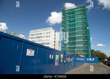 August 2017, Southend On Sea, Essex, England, Redundant Office Blocks are converted into residential accommodation. - Stock Photo