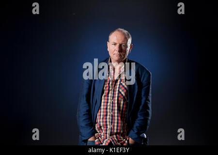 Edinburgh, UK. 27th August 2017. Graham Caveney, the British writer, appearing at the Edinburgh International Book - Stock Photo