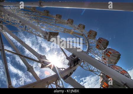 Panoramic wheel in Barcelona - Stock Photo