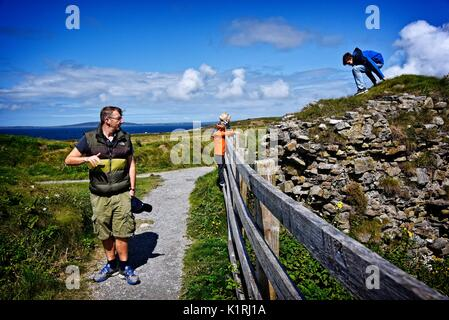 IRELAND Ballybunion Co Kerry - Stock Photo