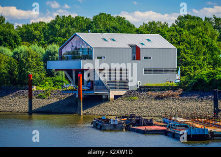House of the projects - The Muegge in Veddel, Hamburg, Germany, Europe, Haus der Projekte - Die Muegge in Veddel, - Stock Photo