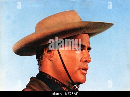 ONE EYED JACKS MARLON BRANDO A PARAMOUNT PICTURE 0034192.JPG ONE EYED JACKS     Date: 1961 - Stock Photo