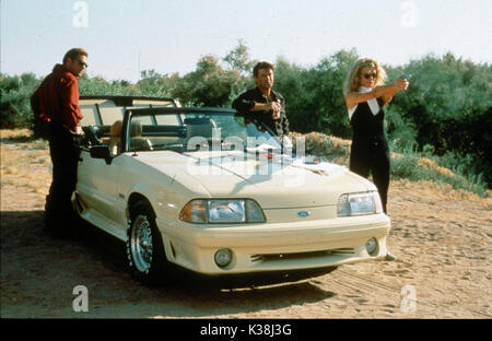 THE GETAWAY MICHAEL MADSEN, ALEC BALDWIN, KIM BASINGER     Date: 1994 - Stock Photo