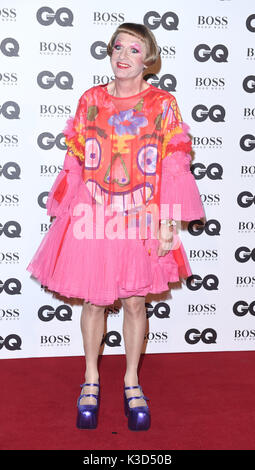 Photo Must Be Credited ©Alpha Press 079965 06/09/2016 Grayson Perry GQ Men Of The Year Awards 2016 Tate Modern London - Stock Photo