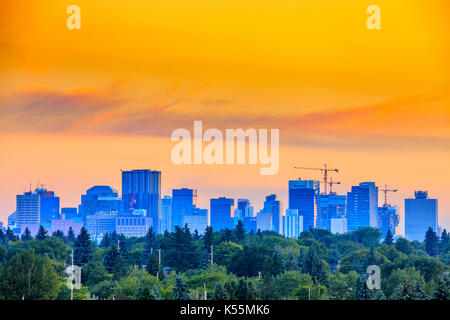 Edmonton city center, Canada - Stock Photo