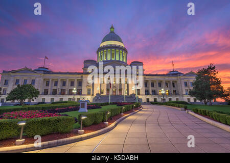 Little Rock, Arkansas, USA at the state capitol. - Stock Photo