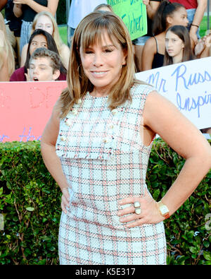 Melissa Rivers attends Melissa Rivers Kevin Frazier 'Surprise Teachers Red Carpet for EIF Presents: XQ Super School - Stock Photo