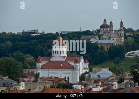 Cathedral of the Theotokos (Orthodox), Vilnius, Lithuania - Stock Photo