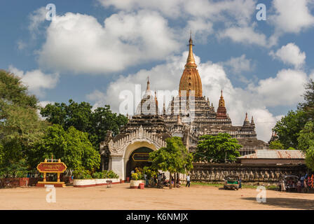 Ananda Phaya of Bagan - Stock Photo