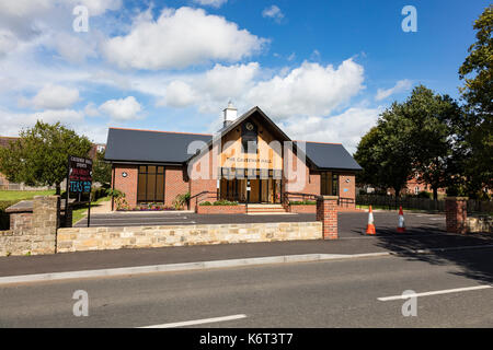 The new village hall at Chiddingstone Causeway, Tonbridge, Kent, UK - Stock Photo