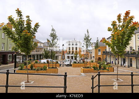 Buttermarket, Poundbury, Dorchester, Dorset, England, Great Britain, United Kingdom, UK, Europe - Stock Photo