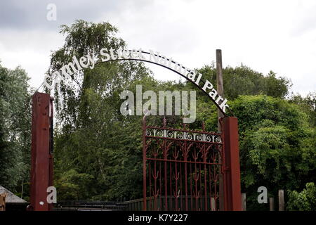 Camley Street Natural Park, urban wildlife park, London - Stock Photo
