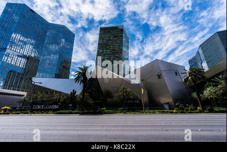 The Shops at Crystals Las Vegas - Stock Photo