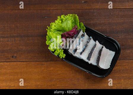 snake head fish meat - Stock Photo