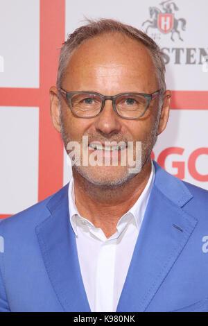 Sport Bild Award 2017 at Fischauktionshalle, Hamburg.  Featuring: Reinhold Beckmann Where: Hamburg, Germany When: - Stock Photo