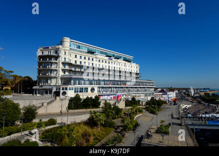 The Palace Hotel opened in 1901 as the Metropole. Now Park Inn by Radisson Palace, Southend-on-Sea, Essex. Southend - Stock Photo