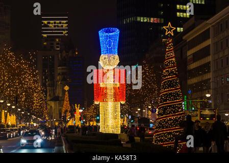 Christmas celebrations with decoration and lighting. beautiful christmas tree. - Stock Photo