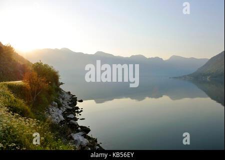Montenegro, Adriatic coast, Kotor bay - Stock Photo
