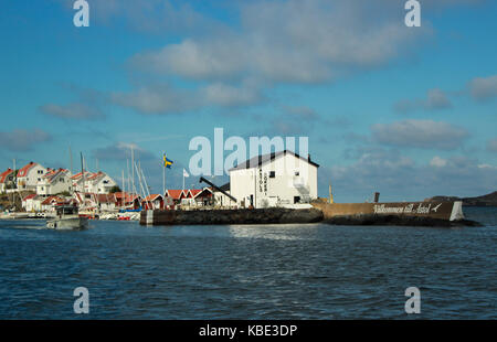 Astol port entrance in Gothenburg archipelago Sweden - Stock Photo
