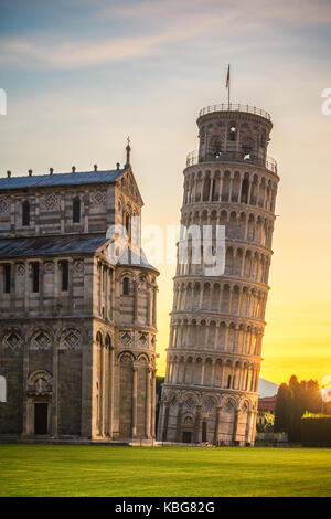 Pisa Cathedral first light - Stock Photo