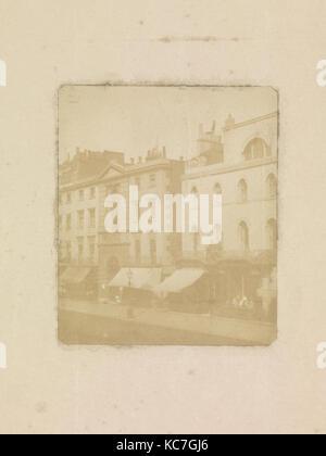 Nos. 170–176 Regent Street, London, William Henry Fox Talbot, ca. 1846 - Stock Photo