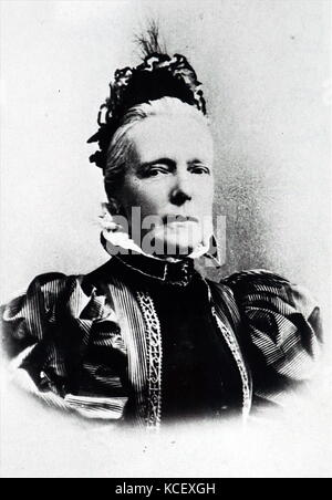 Photograph of Archduchesses Marie Henriette of Austria of the branch of Palatine of Hungary (1836-1902) became Queen - Stock Photo