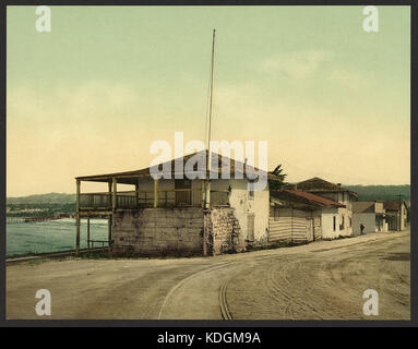Old Custom House, Monterey, Cal LCCN2008679610 - Stock Photo